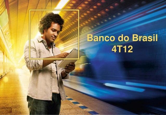 1Banco do Brasil4T12