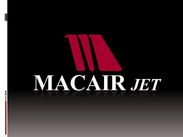Institucional macair jet english