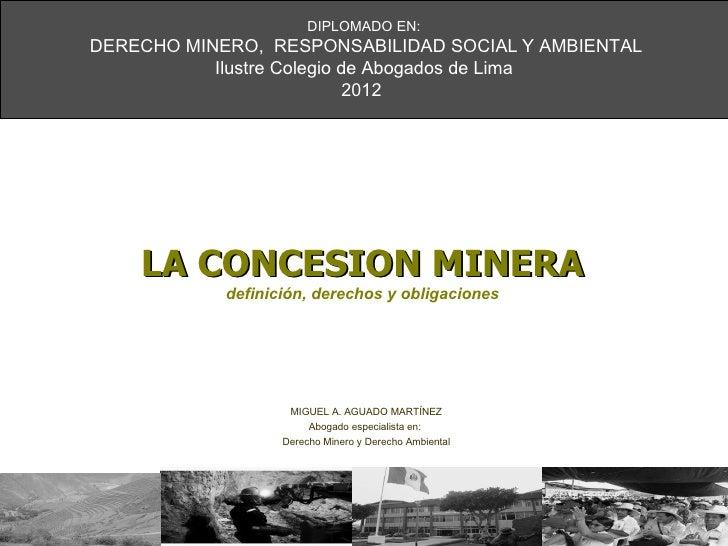 Instituciones en elsector minero  06 06-12