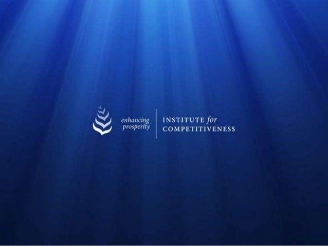 ACTIVITY PORTFOLIO OF THE INSTITUTEPUBLICATIONS                               EVENTS & AWARDS   India Competitiveness Rep...