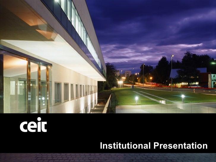 Centro de Investigación CEIT