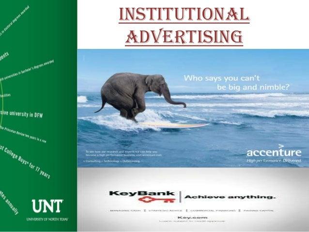 Institutional Advertising Examples Institutional Advertising 1