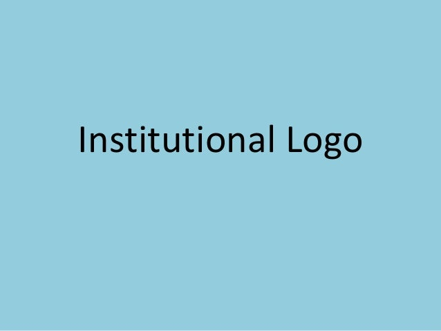 Institutional Logo