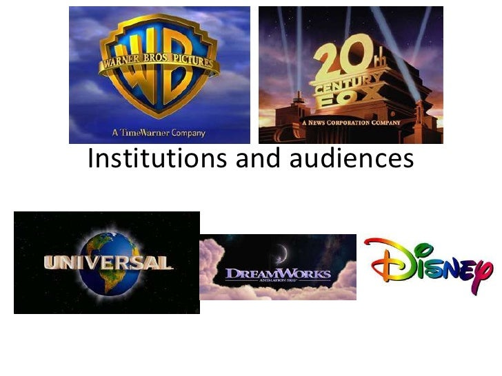 Institutions and audiences