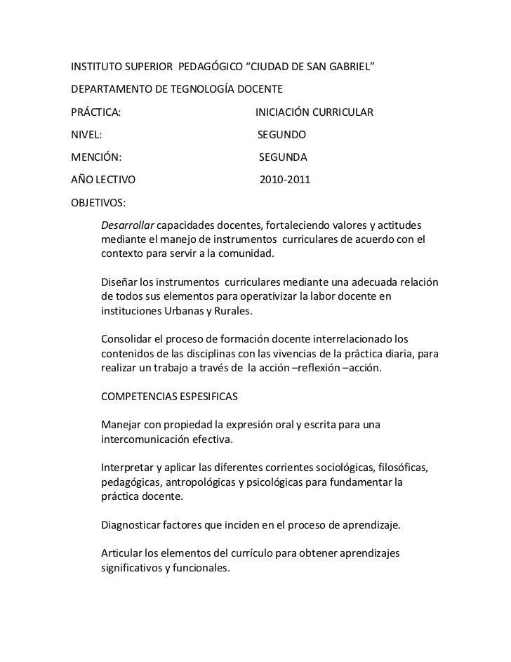 """INSTITUTO SUPERIOR  PEDAGÓGICO """"CIUDAD DE SAN GABRIEL""""<br />DEPARTAMENTO DE TEGNOLOGÍA DOCENTE<br />PRÁCTICA:             ..."""
