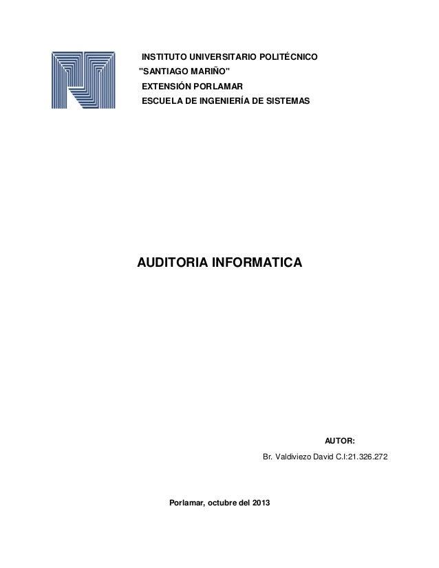 Instituto universitario politécnico