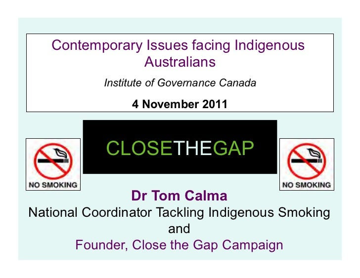Contemporary Issues facing Indigenous                Australians            Institute of Governance Canada                ...