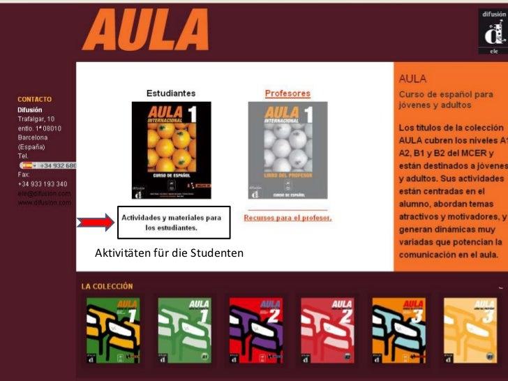 Aktivitäten für die Studenten<br />