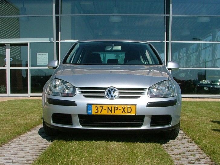Instructeur Jelmer Mullender / Volkswagen Golf