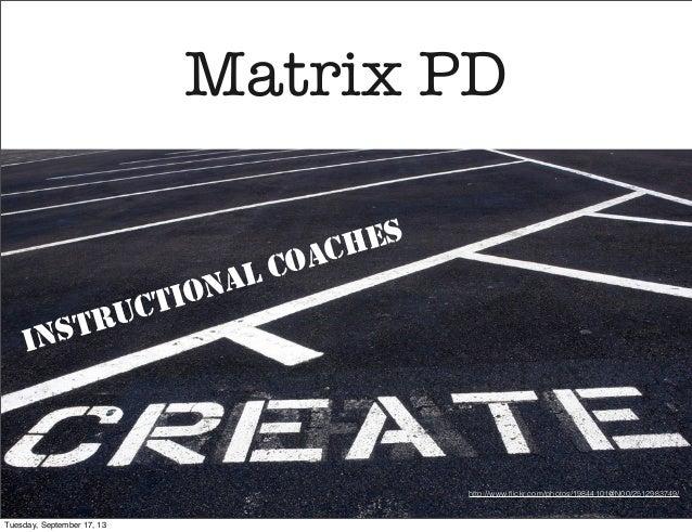 Instructional Coaching Technology PD Create It A