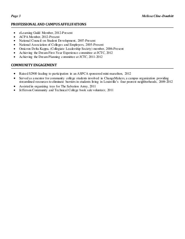 instructional design resume summer 2014