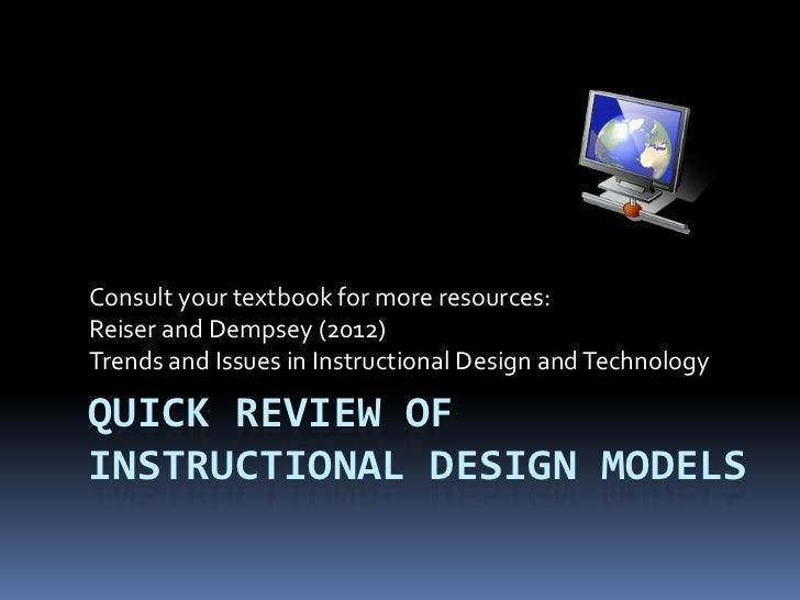 Instructional design review