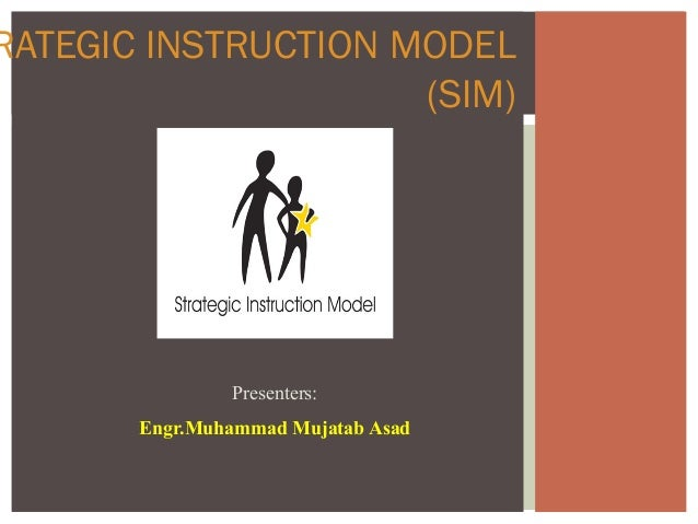 what is an instructional model