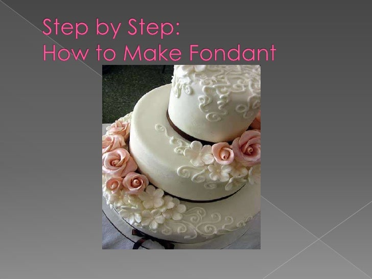Step by Step:How to Make Fondant<br />