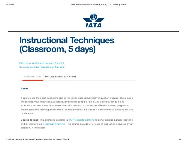 instructional techniques in the classroom