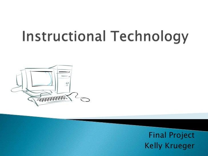 Instructional technology Final project