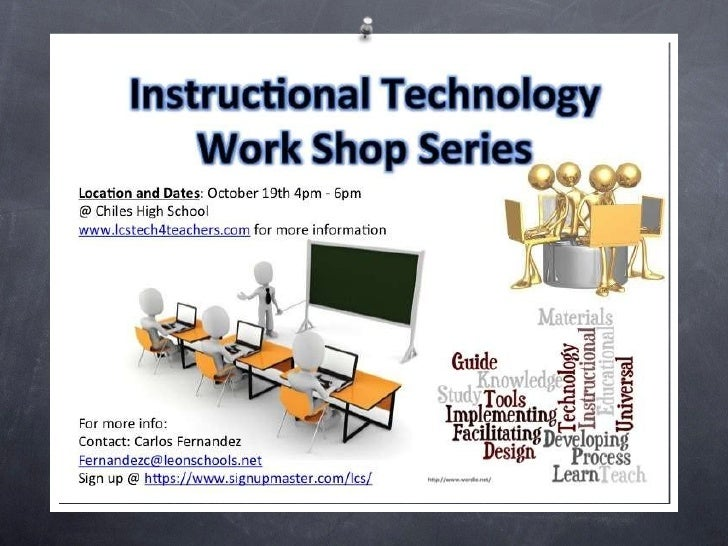 Instructional technology workshop_series_1