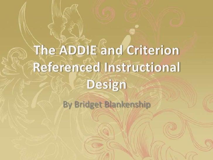 Instructive model design