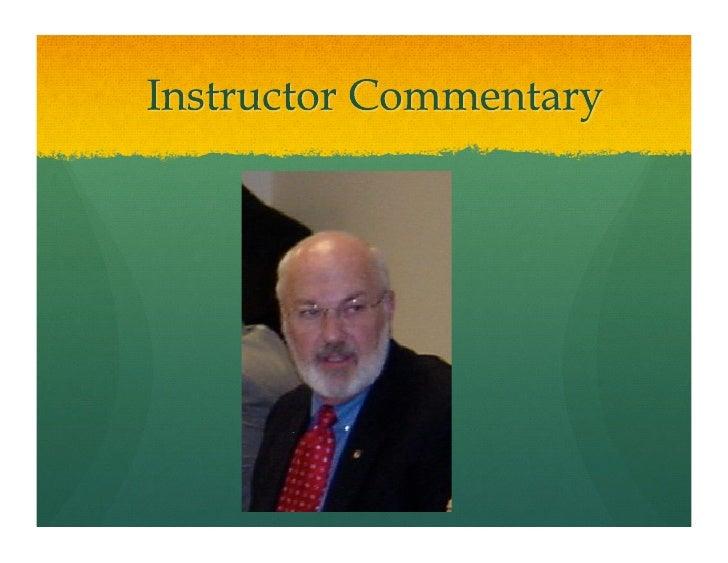 Instructor