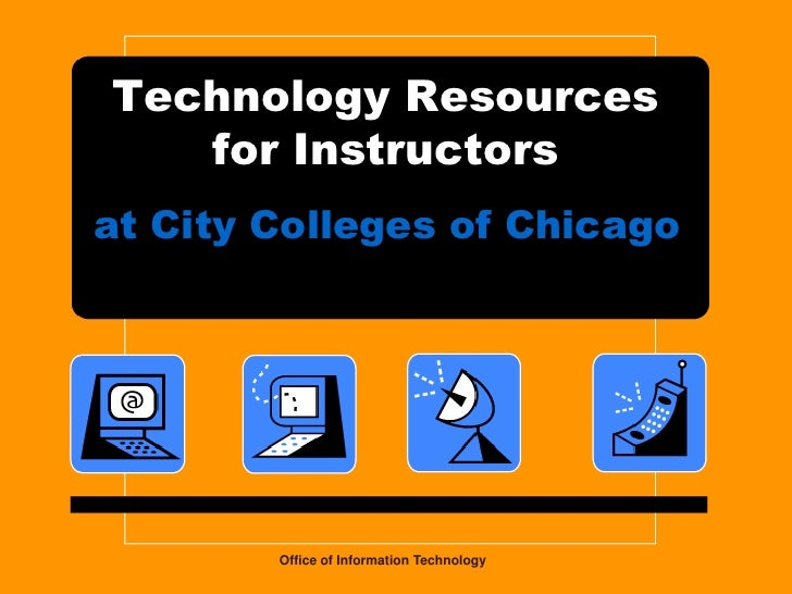 Instructor resources presentation