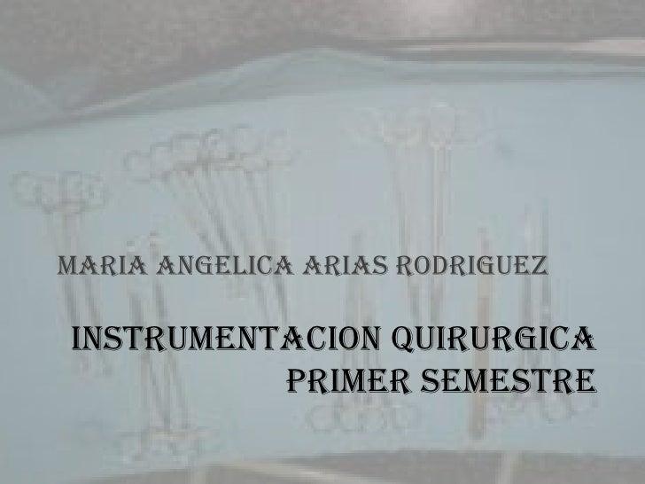 Instrumentacion quirurgica 1