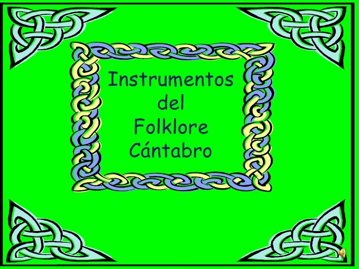 Instrumentos folclore cántabro