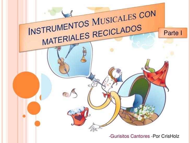 Instrumento Con Material Reciclable | apexwallpapers.com