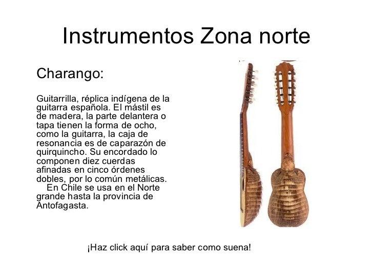 Instrumentos musicales de chile for Piletas publicas en zona norte