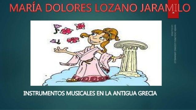 INSTRUMENTOS MUSICALES EN LA ANTIGUA GRECIA 1