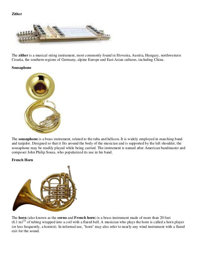 Woodwind family instruments woodwind family - Instruments 3