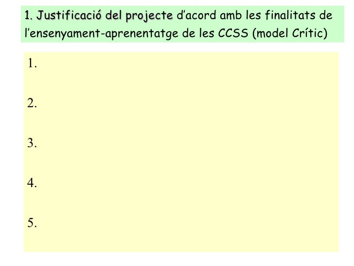 Instruments Projecte