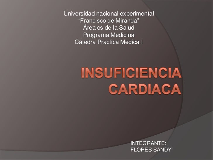 "Universidad nacional experimental     ""Francisco de Miranda""       Área cs de la Salud       Programa Medicina    Cátedra ..."