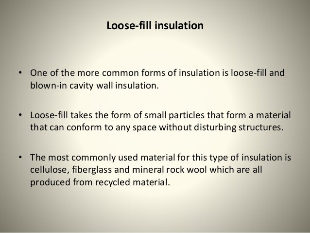Insulation a small investment for your home for Blown mineral wool cavity insulation