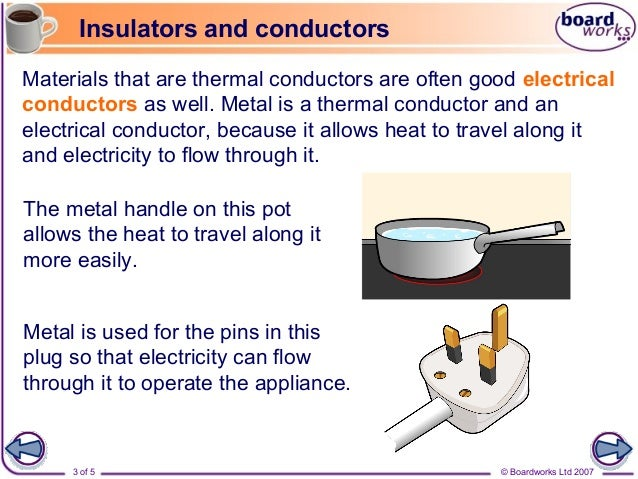 Electrical Conductors And Insulators : Insulators and conductors