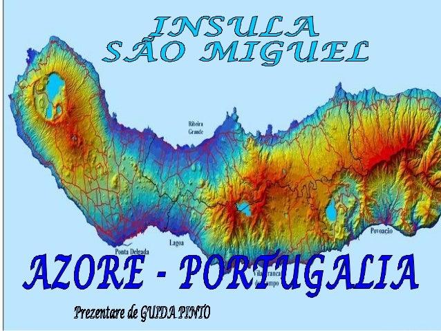 São Miguel este principala insulă din arhipelagul Azorelor. Insula este formată din doi masivi vulcanici separaţi de un la...