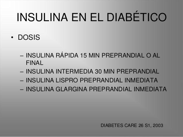 Insulina y dm