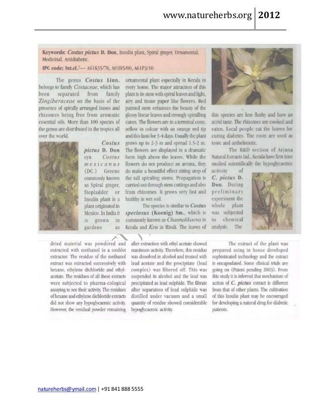 www.natureherbs.org 2012natureherbs@ymail.com | +91 841 888 5555