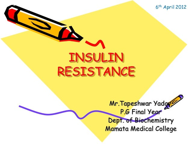 how to fix insulin resistance