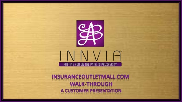 Insurance outlet-mall-walkthrough-090713