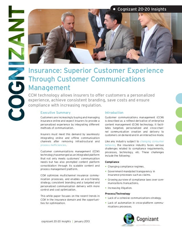 managing customer experience in communications Ensure a consistent brand experience, reduce cost and simplify how you  compose and manage your content with a multi-channel communications  platform.