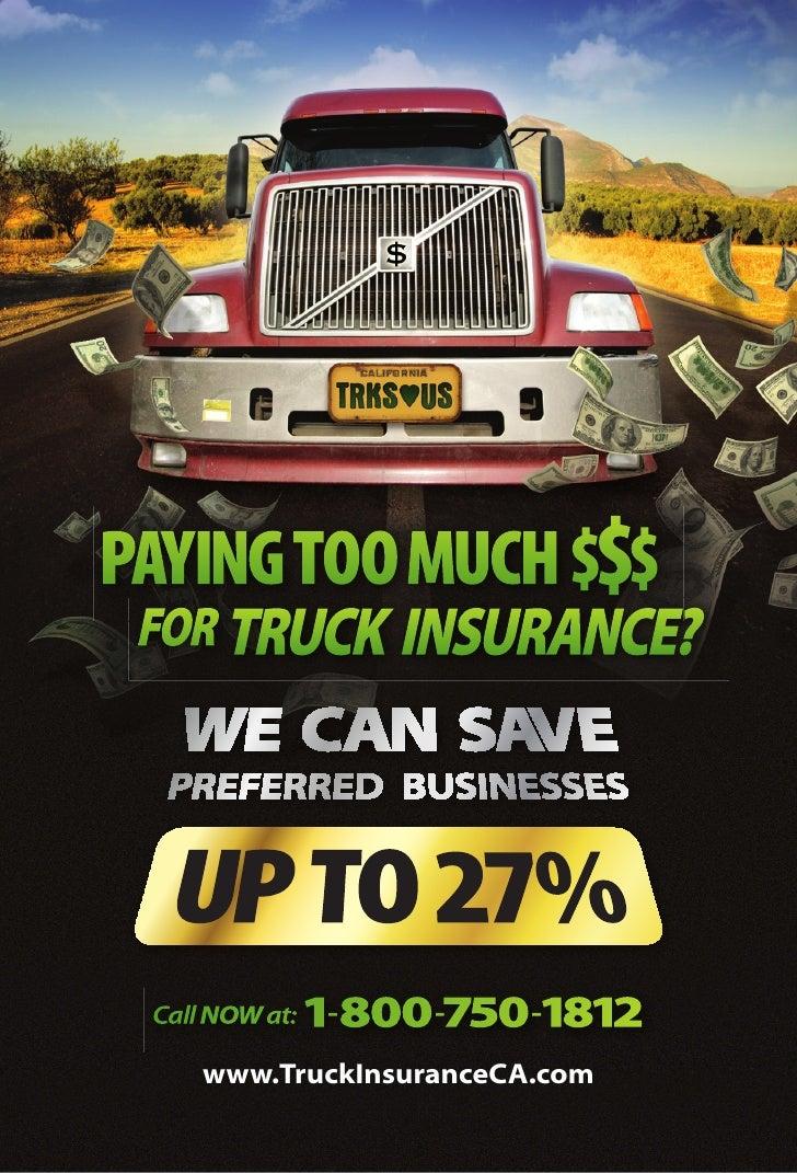 Insurance   Truckers Postcard