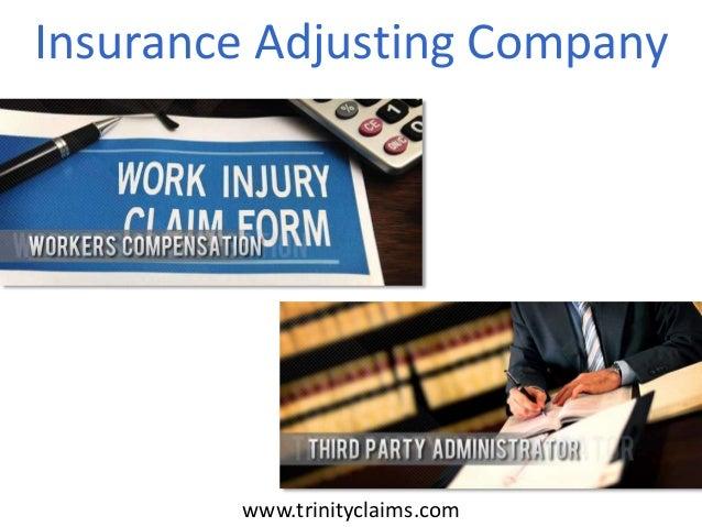 Insurance Adjusting Company www.trinityclaims.com