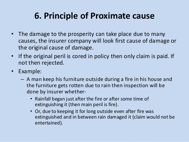 proximity cause insurance Find out if your business will benefit from pollution insurance it covers them for liability if they should wrongly declare a property free of pollutants or if the work they do causes further contamination the proximity of the business to residential neighborhoods.