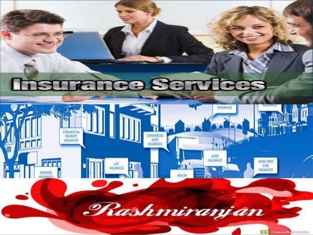 Insurance services by Rashmiranjan Das