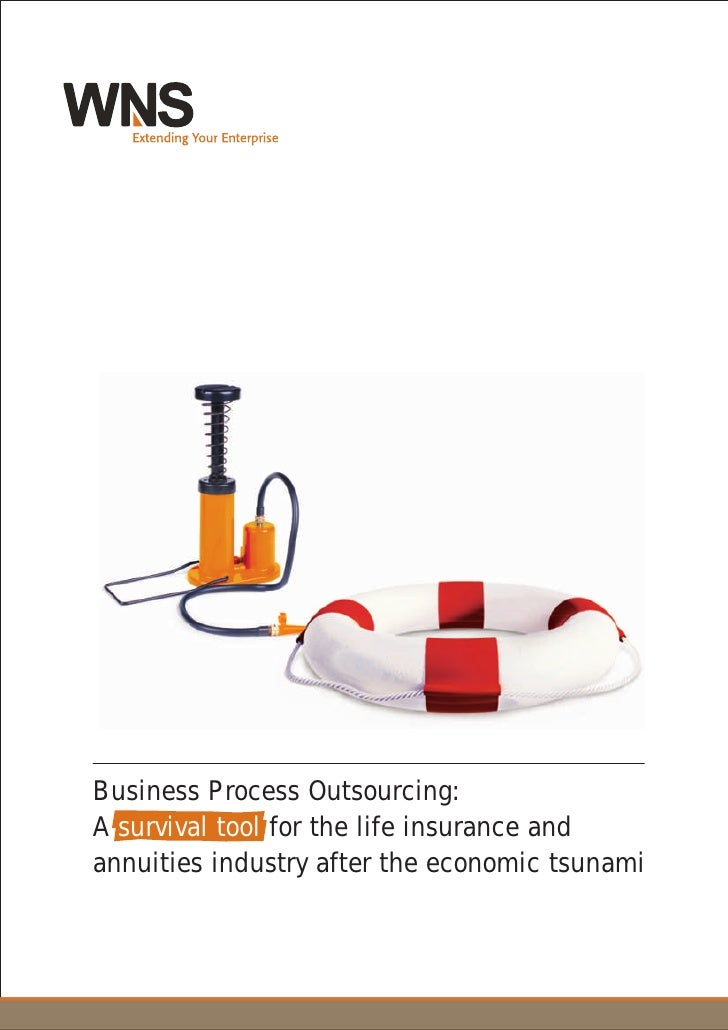 Business Process Outsourcing: A survival tool for the life insurance and annuities industry after the economic tsunami