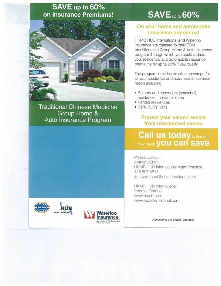 Insurance Tcm Brochure English