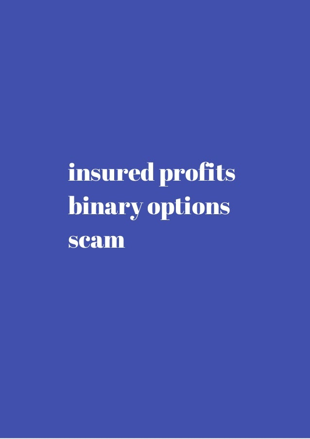 Binary option scam