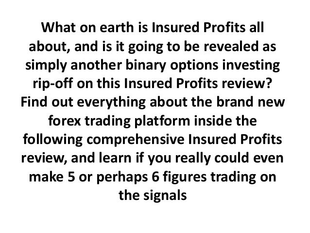 Binary options insured profits review