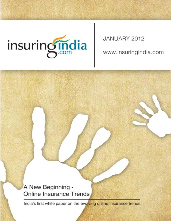 Online Insurance Trends in India