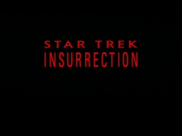 Star Trek Insurrection In Pictures